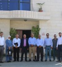 زيارة بلدية الخليل لمقر الشركة