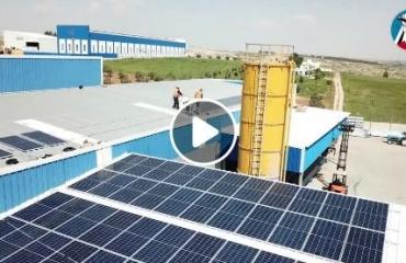 النموذج الأول من نوعه في الجنوب لانتاج الطاقه النظيفه من الخلايا الشمسية