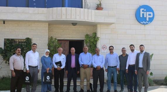 Hebron municipality visiting FIP